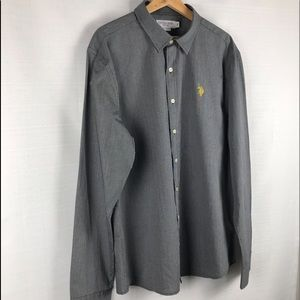 US Polo ASSN Men's Dress Button Up Dress Shirt